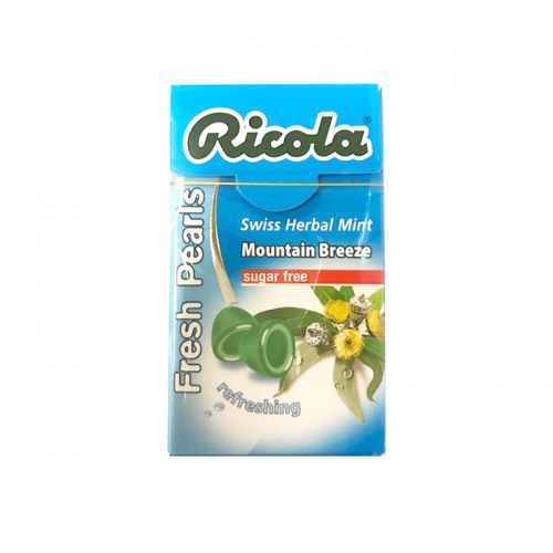 Ricola Fresh Pearls Mountain Breeze Swiss Herbal Mint - 25gm