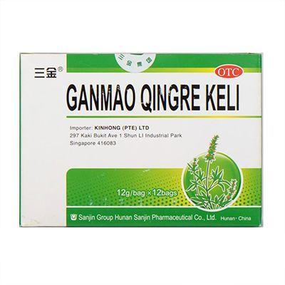 Sanjin Brand Ganmao Qingre Keli - 12g x 12 bag
