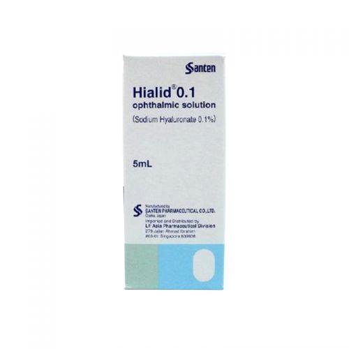 Santen Hialid 0.1 Ophthalmic Solution (Dry Eye) - 5 ml