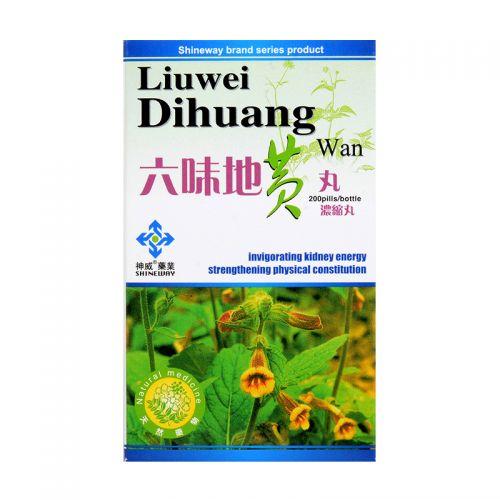 Shineway Brand Liuwei Dihuang Wan - 200 Pills