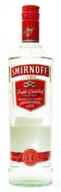 Smirnoff Triple Distilled For Purity Premium Vodka - 75 cl (40% vol)