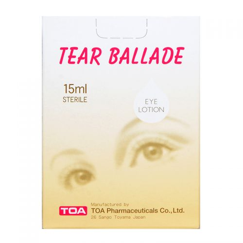 TOA Tear Ballade Eye Lotion - 15ml Sterile