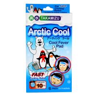 Takamizu Arctic Cool Cool Fever Pad - 6 Pads (2 x 3 Sachets)