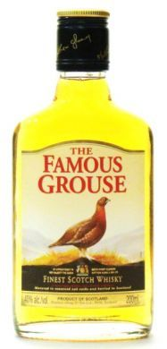 The Famous Grouse Finest Scotch Whisky - 200 ml (40% alc/vol)