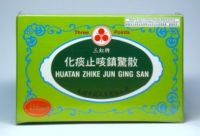 Three Points Brand Huatan Zhike Jun Ging San - 10 Pills X 0.4 gm