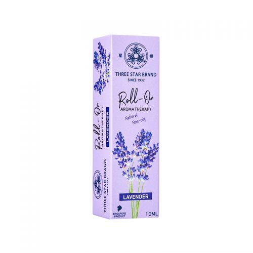 Three Star Brand Roll-On Aromatherapy (Lavender) - 10ml