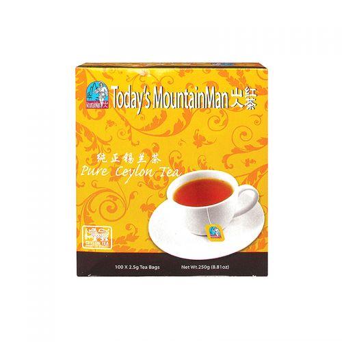 Today's MountainMan Pure Ceylon Tea Regular - 100 Tea Bags