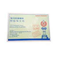 Totorin (with hole) Medicated Plaster - 10 Plasters (62mm x 42mm)