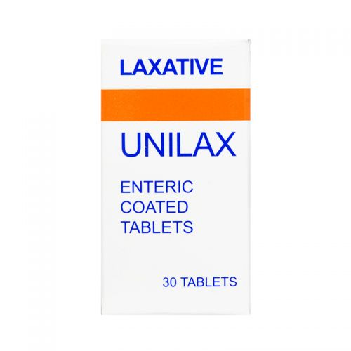 Unilax Laxative - 30 Enteric Coated Tablets