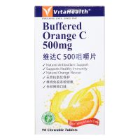VitaHealth Buffered Orange C 500mg - 90 Chewable Tablets