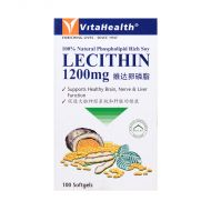 VitaHealth Lecithin 1200mg - 100 Softgels