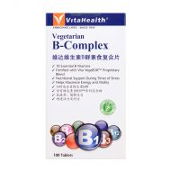 VitaHealth Vegetarian B-Complex - 100 Tablets