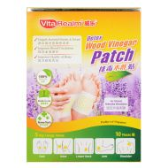 VitaRealm Detox Wood Vinegar Patch - 10 Pieces