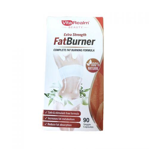 VitaRealm Extra Strength FatBurner - 90 Veggie Capsules