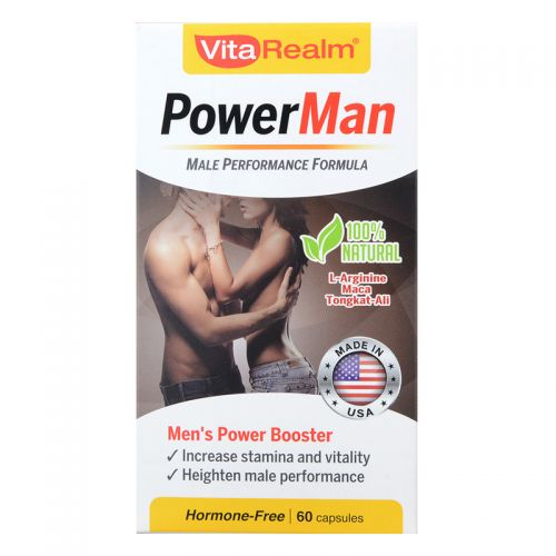 VitaRealm PowerMan - 60 Capsules