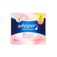 Whisper Skin Love Light / Normal Day - 18 Pads (22cm)