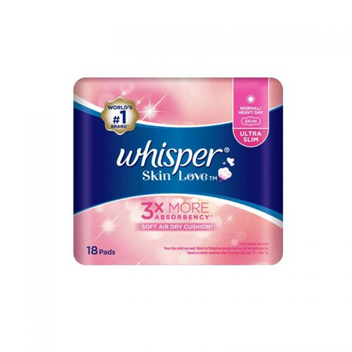 Whisper Skin Love Ultra Slim Normal / Heavy Day - 24cm