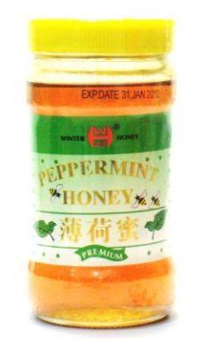 Winter Honey Brand Peppermint Honey Premium - 350 gm