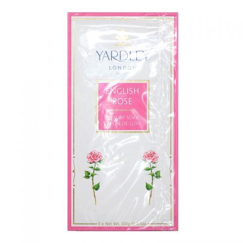 Yardley London English Rose Luxury Soap - 3 x 100g