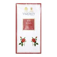 Yardley London Red Rose Luxury Soap - 3 x 100g