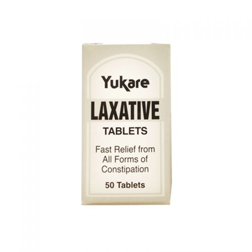 Yukare Laxative Tablets - 50 Tablets