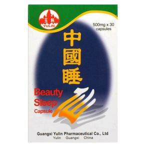 Yulin Brand Beauty Sleep Capsule - 30 Capsules X 500 mg