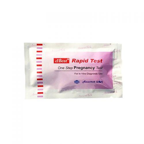 dBest One Step Pregnancy Test- Cassette type