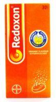 Bayer Redoxon Orange Flavour Effervescent Double Action Vitamin C + Zinc - 30 Tablets