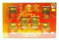 Fortune Swallow Brand Bird's Nest With Ginseng & Rock Sugar - 6 Bottles X 70 ml