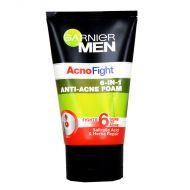 Garnier Men Acno Fight 6-in-1 Anti-Acne Foam - 100ml