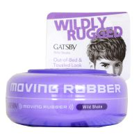Gatsby Moving Rubber Wild Shake - 80g