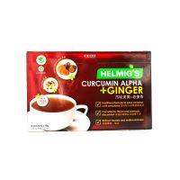 Helmig's Curcumin Alpha + Ginger - 10 Sachets x 18g x 2 Packs
