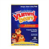 Hero Yummi Bears Echinacea+Vitamin C & Zine - 40 gummy bears