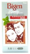 Hoyu Bigen Speedy Hair Color Conditioner With Natural Herbs - No. 855 Burgundy Brown
