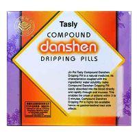 Jin Pai Tasly Compound Danshen Dripping Pills - 27mg/pills x 100 Pills x 2 Bottles
