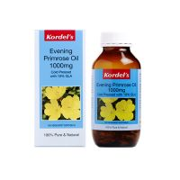 Kordel's Evening Primrose Oil 1000mg - 150 Vegicaps Softgels x 2 Packs