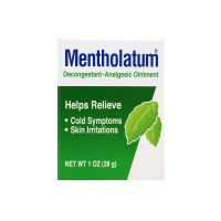 Mentholatum Decongestant Analgesic Ointment - 28 gm