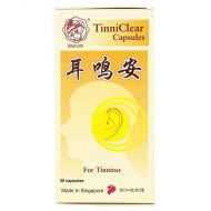 Qian Jin Brand TinniClear Capsules - 50 Capsules
