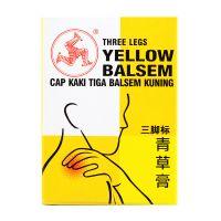 Three Legs Brand Yellow Balsem - 36 gm