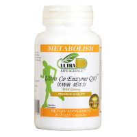 Ultra Life Science Ultra Co Enzyme Q10 - 30 Veggie Capsules