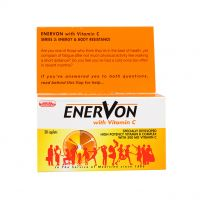 United American Enervon with Vitamin C - 30 Caplets