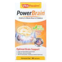 VitaRealm  PowerBrain - 80 Capsules